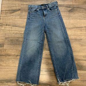 Banana Republic High-Rise Wide Leg Jeans